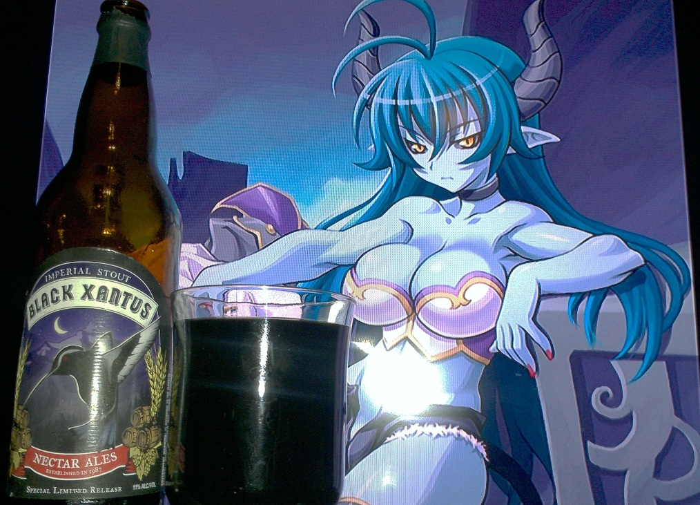 Black Xantus Imperial Stout by Nectar Ales/Firestone Walker