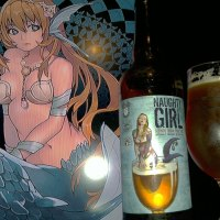 Naughty Girl Blonde India Pale Ale collaboration between New Albanian, De Struise and Louisville Beer Store