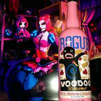 Voodoo Doughnut Pretzel, Raspberry & Chocolate Ale by Rogue brewing