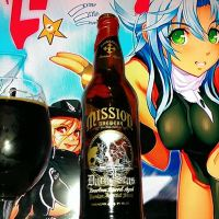 Dark Seas Bourbon Barrel Aged by Mission Brewing