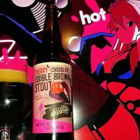 Cherry Chocolate Double Brown Stout by Deep Ellum Brewing