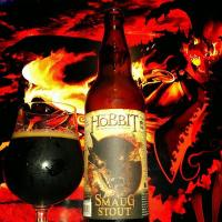The Hobbit Smaug Stout by Fish Tale Brewing
