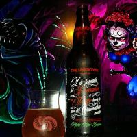 La Jornada del Escorpion en Fuego Hacia la casa del Chupacabra muerto (99 Scorpions) (The Path of the Fiery Scorpion through the House of the Dead Chupacabra) by The Unknown Brewing