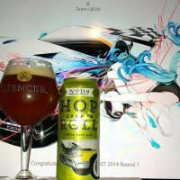 Hop Drop 'N Roll by NoDa brewing