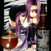 Wasted Sea Star Purple Pale Ale by Rogue brewing
