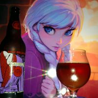 2015 Lips of Faith Series Blackberry Barleywine by New Belgium