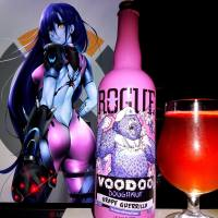 Voodoo Doughnut Grape Guerrilla by Rogue brewing