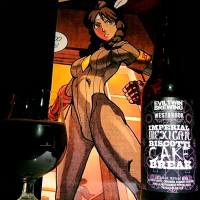Imperial Mexican Biscotti Cake Break collaboration by Evil Twin Brewing and WestBrook brewing