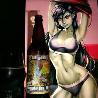 Exorcism of Rachel Wall by Clown Shoes brewing