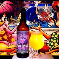 Porcupine De Amore collaboration by Jolly Pumpkin and North Peak brewing