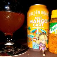 Spicy Mango Cart by Golden Road Brewing