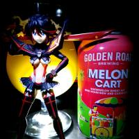 Melon Cart by Golden Road Brewing