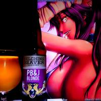 PB&J Blonde by Belching Beaver Brewery